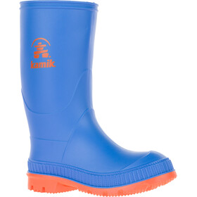 Kamik Stomp Rubber Boots Kinder blue/orange